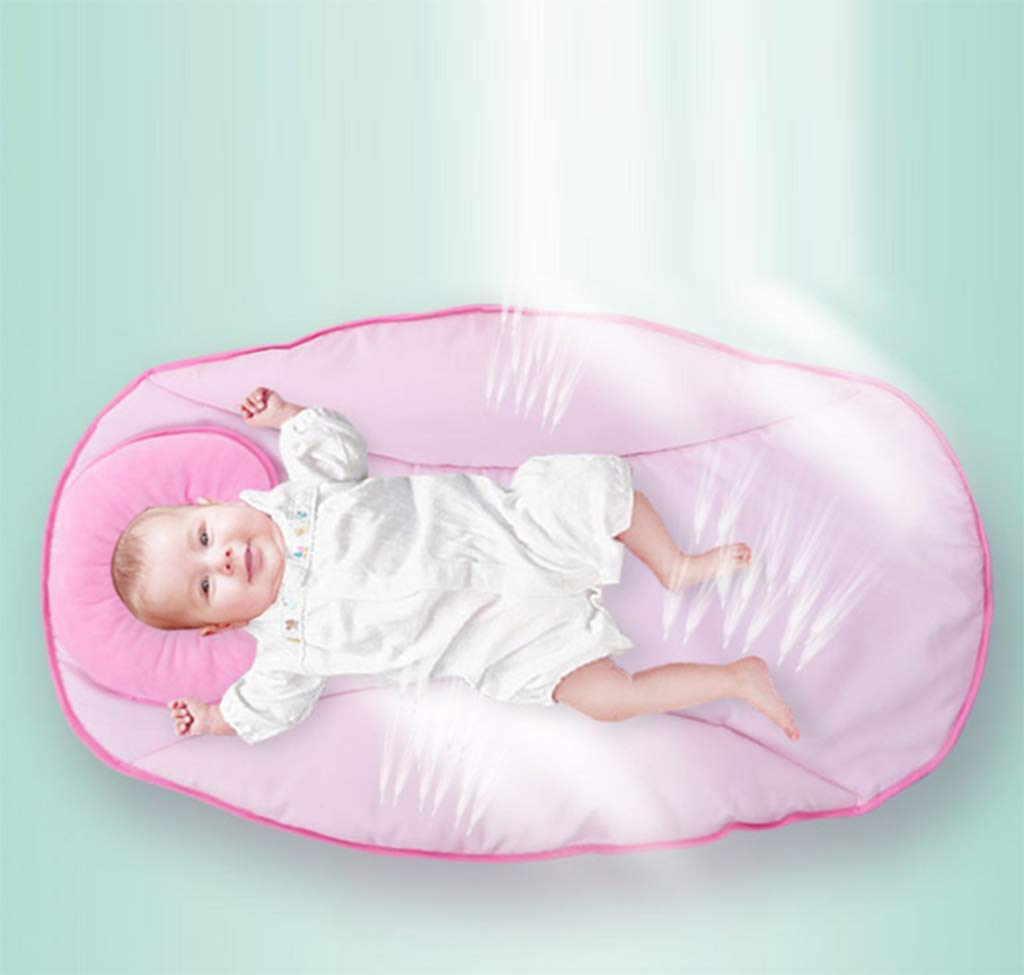Baby Electric Cradle Bed - Rocking Chair Sleeping Basket Baby cot Smart Baby Artifact Sleepy Comfort Chair,3-Speed Electric Swing, Easy to Sleep,B AYUANCHUN From soothing swings, music and sounds to calming vibrations, light projections, and more, everything has everything to help your baby leave the dream comfortably. Sensory: A variety of soft textures, calm vibrations and swaying movements stimulate the baby's senses. Safety and well-being: Soft cushions, calm vibrations and gentle shaking help to soothe your baby, become a part of the nap and routine before going to bed, giving your baby a sense of security. 4