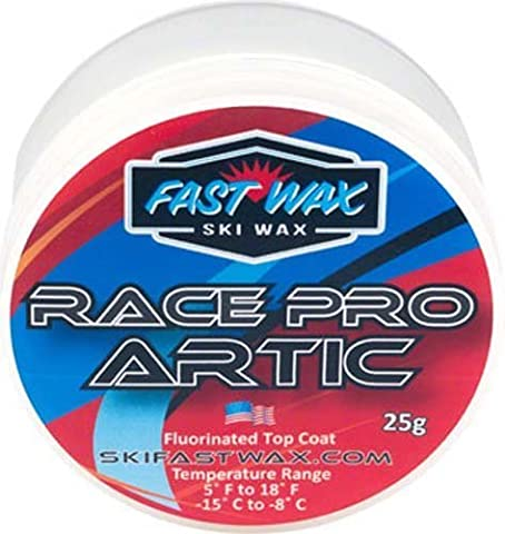 Fast Wax Race Pro Arctic 5F to 18F 25g Snow Sport Ski Snowboard Wax by Fast Wax