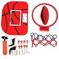 Dhishy Mini Juego de Canasta de Baloncesto, Baloncesto de Interior para Niños(Gancho de plástico)