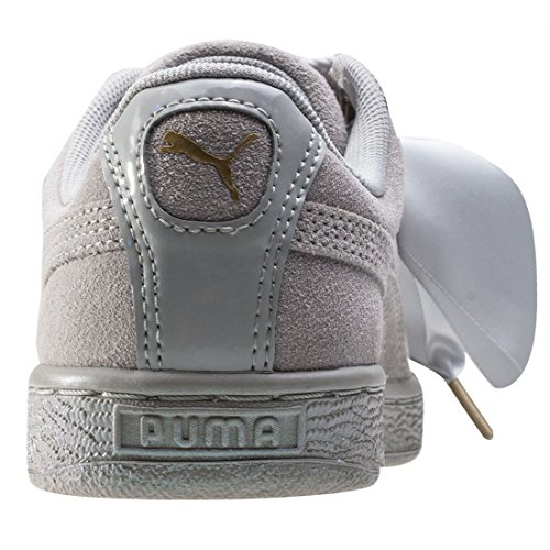 Puma Suede Heart Satin 36271402, Scarpe sportive Grigio