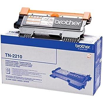 Brother Original Tonerkassette TN-2210 schwarz (für Brother FAX-2840, FAX-2845, FAX-2940, HL-2240D, HL-2240, HL-2250DN, HL-2270DW, DCP-7060D, DCP-7065DN, DCP-7070DW, MFC-7360N, MFC-7460DN, MFC-7860DW)