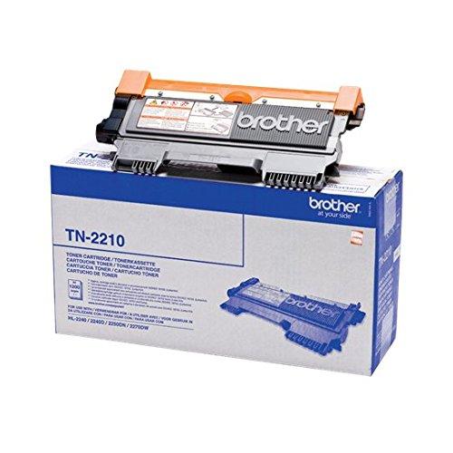 Brother Original Tonerkassette TN-2210 schwarz FAX-2840, FAX-2845, FAX-2940, HL-2240D, HL-2240, HL-2250DN, HL-2270DW, DCP-7060D, DCP-7065DN, DCP-7070DW, MFC-7360N, MFC-7460DN, MFC-7860DW