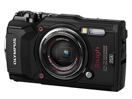 Olympus Stylus TG-5 Fotocamera Digitale, Nera