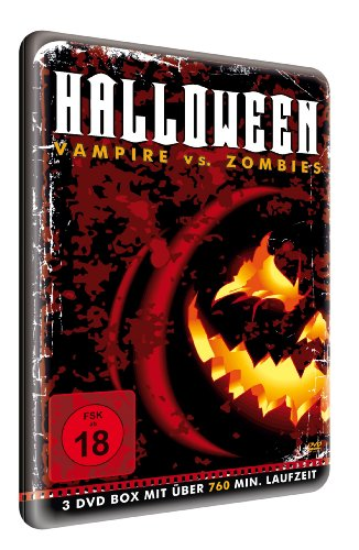 Best Entertainment AG Halloween - Vampire vs. Zombies (8 Filme) [3 DVDs]