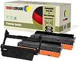 3-er Pack TONER EXPERTE Trommel & 2 Toner kompatibel zu MLT-R116 MLT-D116L für Samsung Xpress SL-M2625 M2625D M2626 M2626D M2675 M2675F M2675FN M2676 M2676N M2825 M2825DW M2825ND M2826 M2835 M2835DW M2875 M2875FD M2875FW M2875ND M2876 M2885 M2885FW