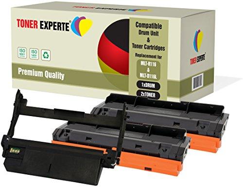Kit 3 TONER EXPERTE MLT-R116 Tamburo & MLT-D116L 2 Toner compatibili per Samsung Xpress SL-M2625 M2625D M2675F M2675FN M2825DW M2825ND M2835 M2835DW M2875FD M2875FW M2875ND M2885FW