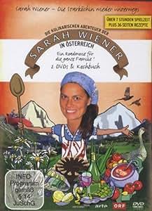 Sarah Wiener - Die kulinarischen Abenteuer der Sarah Wiener in Österreich [2 DVDs + Kochbuch]
