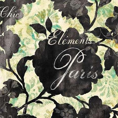 Feeling at home, Stampa artistica x cornice - quadro, fine art print, Paris Bloom II cm 51x51