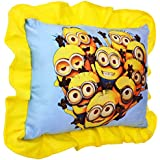 Jassi Toys Small Baby Cushion/ Pillow For Kids With Cartoon Character | Soft Stuffed Toy Folds To Decorative Piece | Birthday Gift Item(Random Cloth Color) (minioonns)