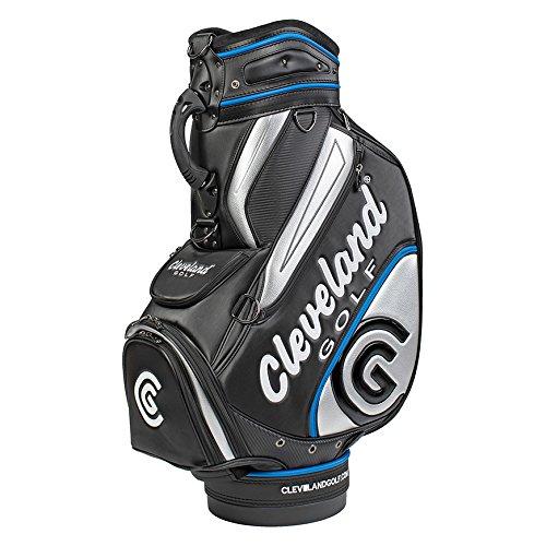 Cleveland Golf 2018Herren CG Staff Bag, schwarz/blau/Silber -