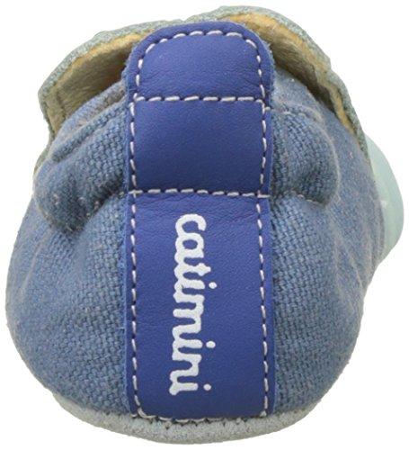 Catimini Baby Jungen Pigeon Krabbelschuhe Vert (Vte Vert-Bleu Dpf/Souple)