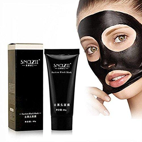 MY LITTLE BEAUTY Schwarze Maske, Mitesser-Entferner, tiefe Reinigung, reinigendes Peeling, Mitesser- und Akne-Behandlung, schwarze Gesichtsmaske