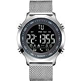 Tropt Smart Watch Herren Silikon elektronische Sport Armband Erwachsenen Wasserdichte Bluetooth Stahl Gürtel elektronische Uhr