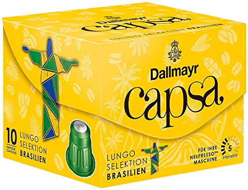 Dallmayr Kaffee capsa Lungo Selektion des Jahres Kaffeekapseln, 5er Pack (5 x 56 gm)