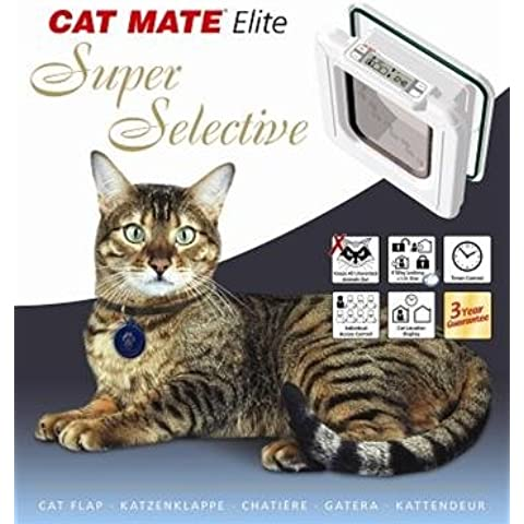 CAT MATE Elite Super Selective Cat Flap 9.75x10in by Cat Mate