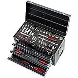 Caja fuerte en la última herramientas à © equipadas © - 3 cajones y bandeja - 100 pcs KS HERRAMIENTAS 922.0100