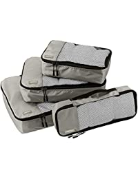 AmazonBasics Packing Cubes/Travel Pouch/Travel Organizer - Small, Medium, Large, and Slim