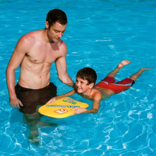 Kids Learn To Swim Pool Aid Foam Kick Board 43x30cm New by Swim Safe