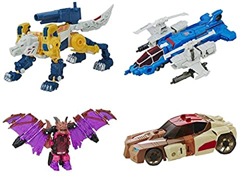 Transformers Generations Titans Return Deluxe Wave 2 Set of 4 by TRA