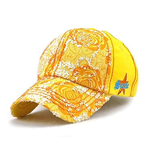GADIEMENSS Female Women Adjustable Lace Baseball Cap Soft Lightweight Running Outdoor Lady Sun Hat with Embroidery Element Suitable for Sports and Daily Life