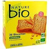 Nature bio biscottes 36 tranches 300g Envoi Rapide Et Soignée ( Prix Par Unité )