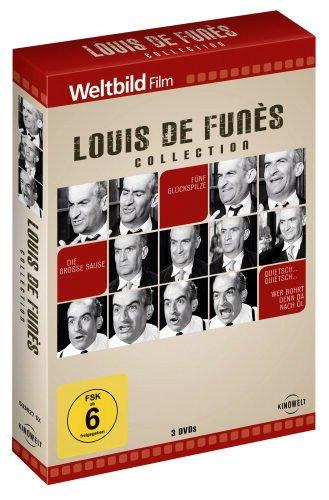 Bild von Louis de Funès Collection: Die große Sause - Fünf Glückspilze - Quietsch ... Quietsch ... Wer bohrt denn da nach Öl?