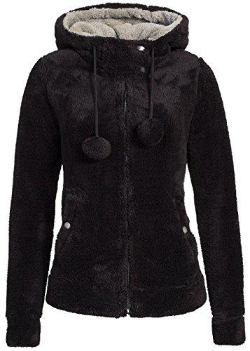 Urban Surface veste polaire teddy pour femme avec oreilles et capuche Urban Surface