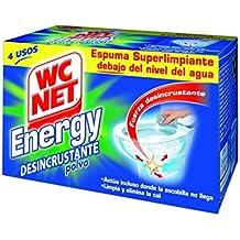 Wc Net Energy Polvo - Desincr. Clp 4 x 60 g