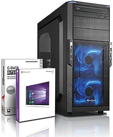 Ultra 8-Kern DirectX 12 Gaming-PC Computer FX 8320E 8x4.00 GHz Turbo - GeForce GTX1050Ti 4GB DDR5 - 16GB DDR3 1600 - 1TB HDD - Windows10 Prof - DVD±RW #5276