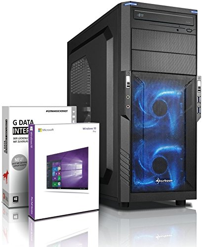 Shinobee Ultra 8-Kern DirectX 12 Gaming-PC Computer FX 8370E, GeForce GTX1060, 2 TB HDD, 16 GB RAM