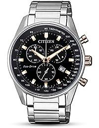 Citizen Analog Black Dial Men's Watch-AT2396-86E