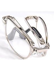 THG Clear Vision antifatiga No Cansancio trabajo plegable de lectura plegable Gafas Gafas Lupa 1.50 y Pocket Mini Funda exterior Llevar