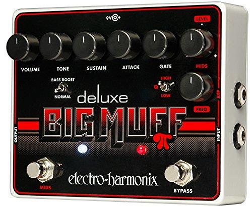 Electro Harmonix 665219efecto de guitarra eléctrica con sintetizador Filtro Deluxe Big Muff Pi