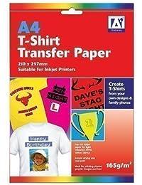 "Anker 2-Sheet ""Stationary T-Shirt"" Transfer Paper, Plastic, Multi-Colour"