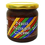 Xylit Nuss-Nougat-Creme (43,7% Haselnüsse) von LASOVLI (405 g) / Ohne Zuckerzusatz