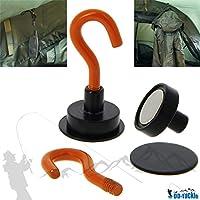 DD-Tackle Ganchos magnéticos (2Unidades para–Tienda–Brolly–Pantalla Magnetic Hook
