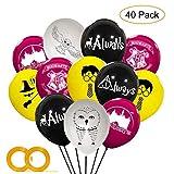 LAOZHOU Harrys Cute Potter Party Balloons Fournitures Magical Wizard School Décorations de fête pour la fête d'anniversaire des Enfants