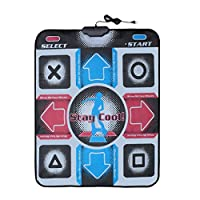 Sunnyday Dancing Step Dance Mat Pad Non-Slip Durable Wear-Resistant Dancing Pads Dance Mat Dancer Blanket To PC With USB For Bodybuilding Fitness