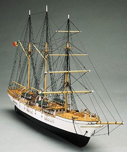 Mantua Modelle Mercator Belguim Training Schiff Schiff Modellbau Bausatz Maßstab 1/120