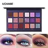 2018 Lidschatten Augen Schatten Palette Make-up Kit Set Make Up Professional Box, Jaminy Ultra Flawless 18 Farbe Mini Lidschatten Palette