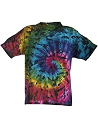 4f1ee709 Chameleon Clothing Tie Dye Rainbow Ammonite T-Shirt