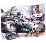 Ralf Schumacher Fan Fahne 140 x 100 cm - versandkostenfrei