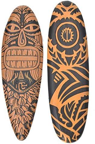 Interlifestyle - Tavola da Surf Surf Surf Maori Tribal, 60 cm, Stile Tiki HawaiiB07HGHHD8MParent   Benvenuto    Forte calore e resistenza al calore    Adatto per il colore  0a294b