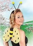 Boland 52852 - Kostümset Biene, Haarreif und Flügel -