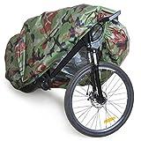 Wasserdichte Fahrrad Staub-Abdeckung Schutzbezug Fahrradabdeckung Regenschutz Sonnenschutz - Tarnung, XL