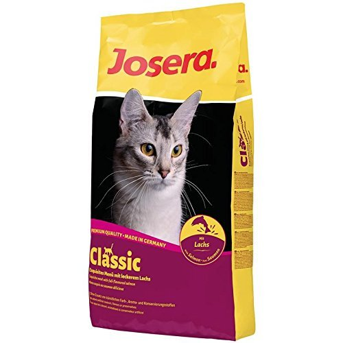 Ohne Getreide Katzenfutter (Josera Classic 4 kg, 1er Pack (1 x 4 kg))