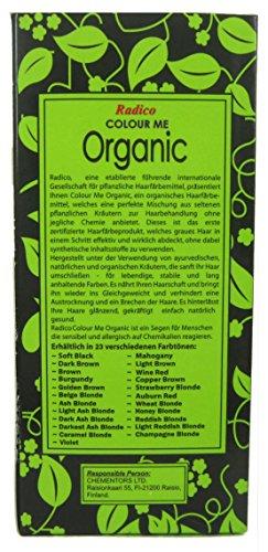 Radico Colour Me Organic Pflanzenhaarfarbe Aschblond (bio, vegan, Naturkosmetik) Aschblond