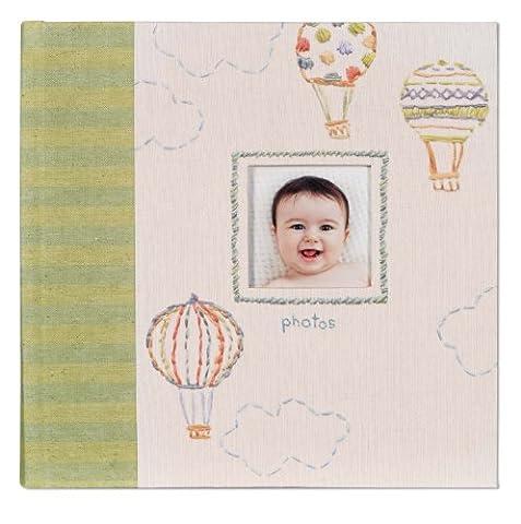 CR Gibson Slim Gebundenes Baby Foto Journal Album - Neugeborenes