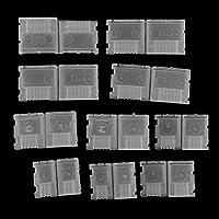 FLAMEER 10 Pack AB Clip Protector De Enchufe De Equilibrio Protector para 2s 3s 4s 6s Batería Li-po