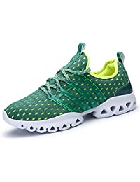 IIIIS-R Homme Chaussures de Course Sports Fitness Gym Sneakers Poids Léger